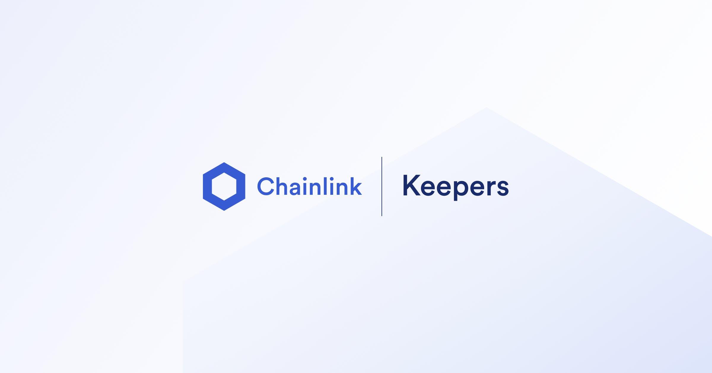 Keeper   Chainlink